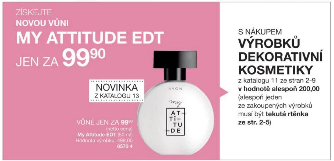 K dekorativní kosmetice MyAttitude za 99,90 Kč