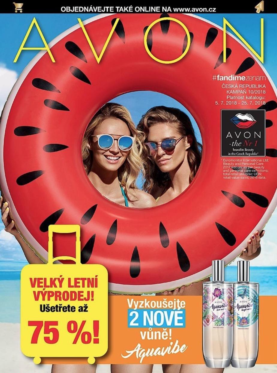 Katalog AVON 10/2018