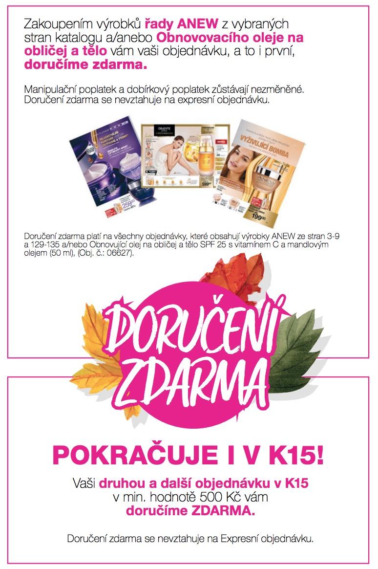 Doručení zdarma K15/2018