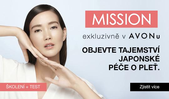 Mission exkluzivně v AVONu