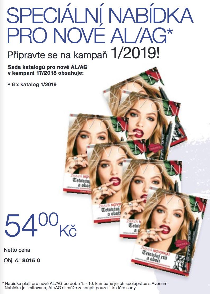 Speciální nabídka pro nové AG/AL K17/2018 – katalogy
