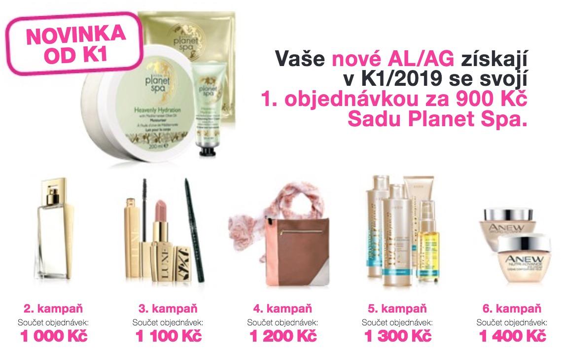 Nabídka pro nové AL/AG v K1/2019