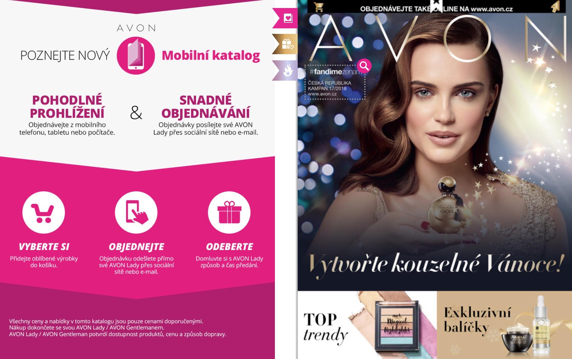 Mobilní katalog AVON K18/2018