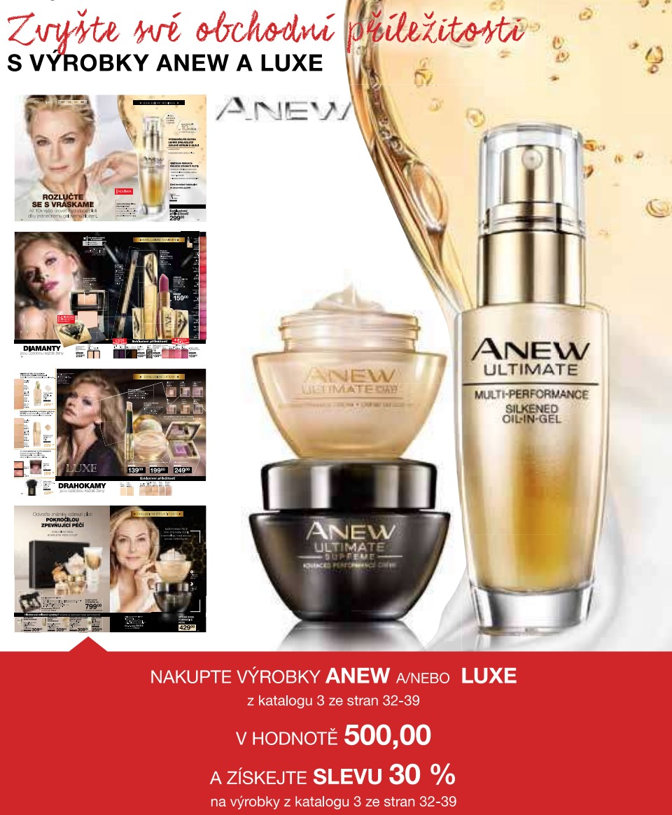 Motivace ANEW a LUXE