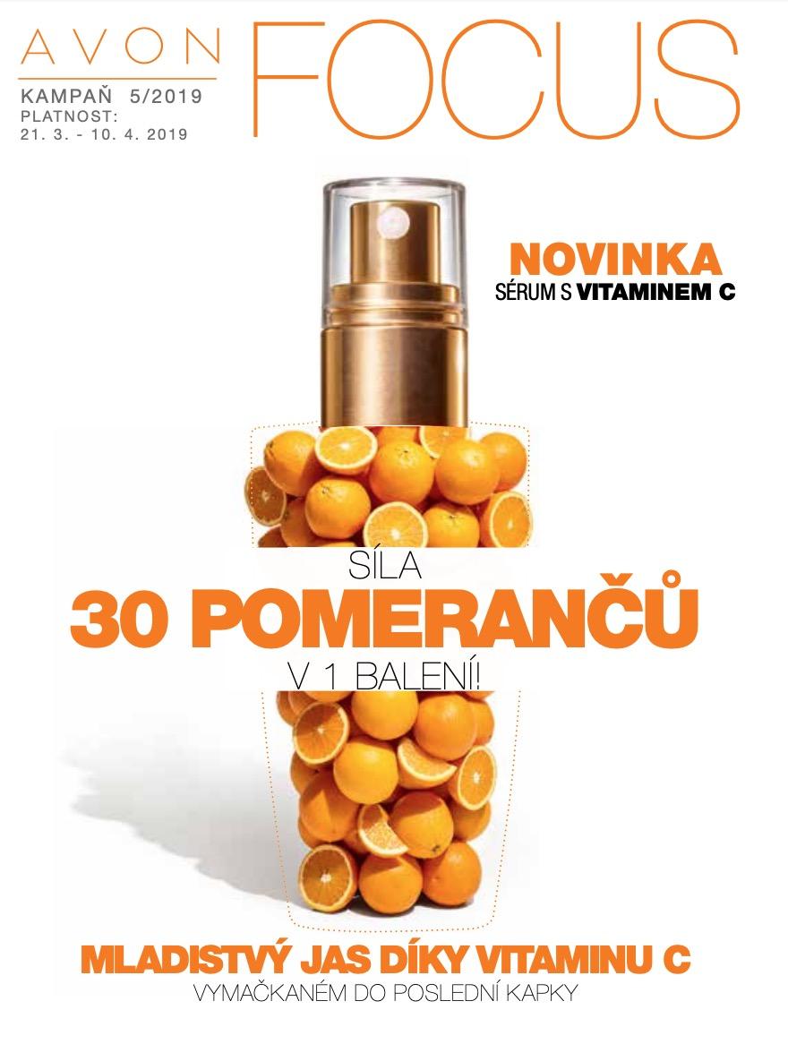 Magazín AVON FOCUS 5/2019