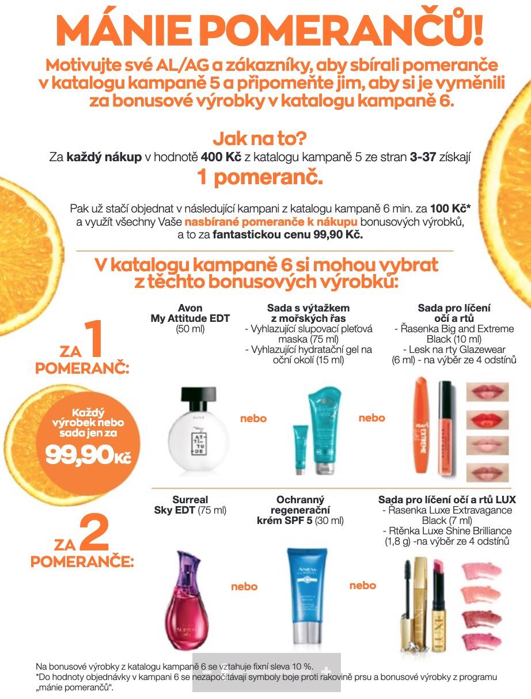 Mánie pomerančů