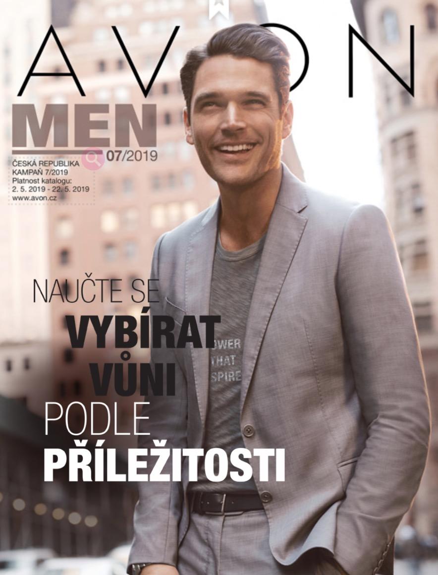 AVON Katalog MEN 7/2019