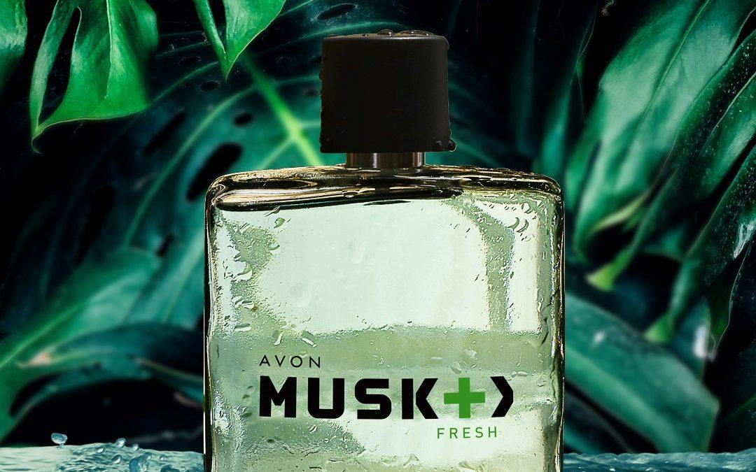 Nová vůně pro muže Musk Fresh