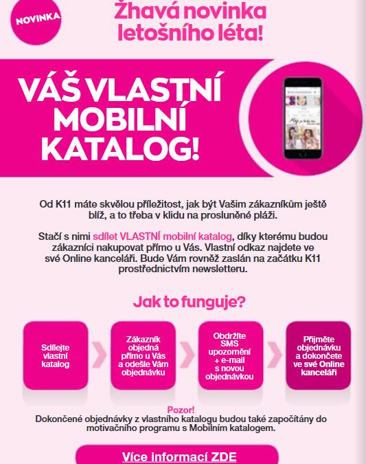 Vlastní mobilní katalog K11/2019