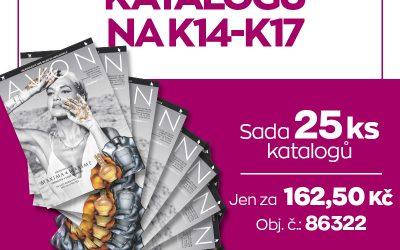 Předplatné katalogů – sada 25 kusů
