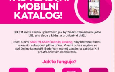 Vlastní mobilní katalog K13/2019