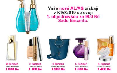 Dárky pro nové AL/AG K16/2019
