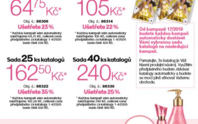 Zvýhodněné sady katalogů K16/2019