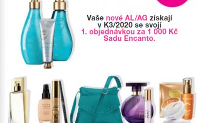 Atraktivní dárky pro nové AL/AG K3/2020