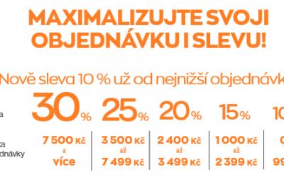 Maximalizujte objednávku i slevu K5/2020