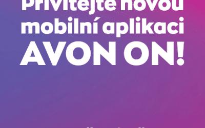 AVON ON – nová mobilní aplikace