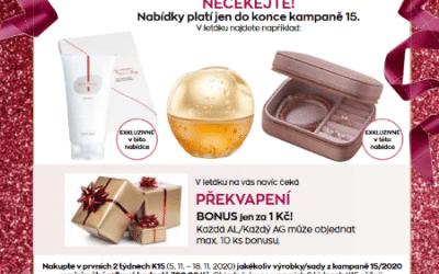 Získejte vánoční dárky se slevou