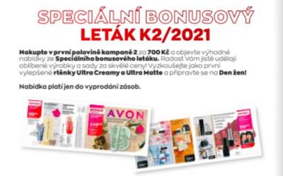 Speciální bonusový leták K2/2021