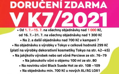 Doručení zdarma v K7/2021