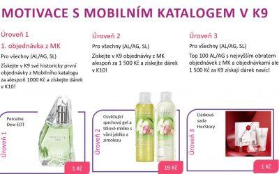 Motivace s mobilním katalogem v K9/2021